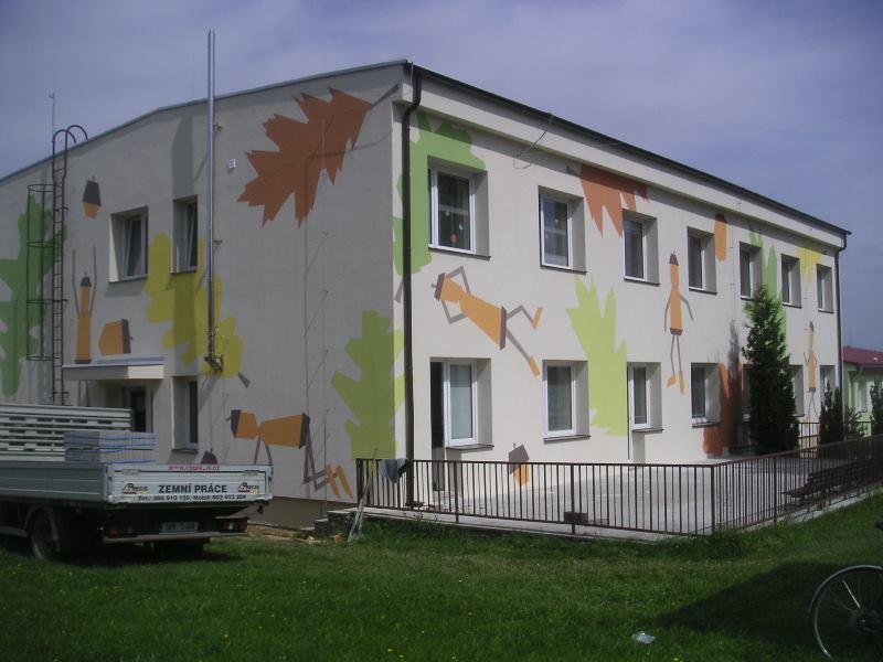 MŠ Dubné čp. 127 - snížení energetické náročnosti budovy