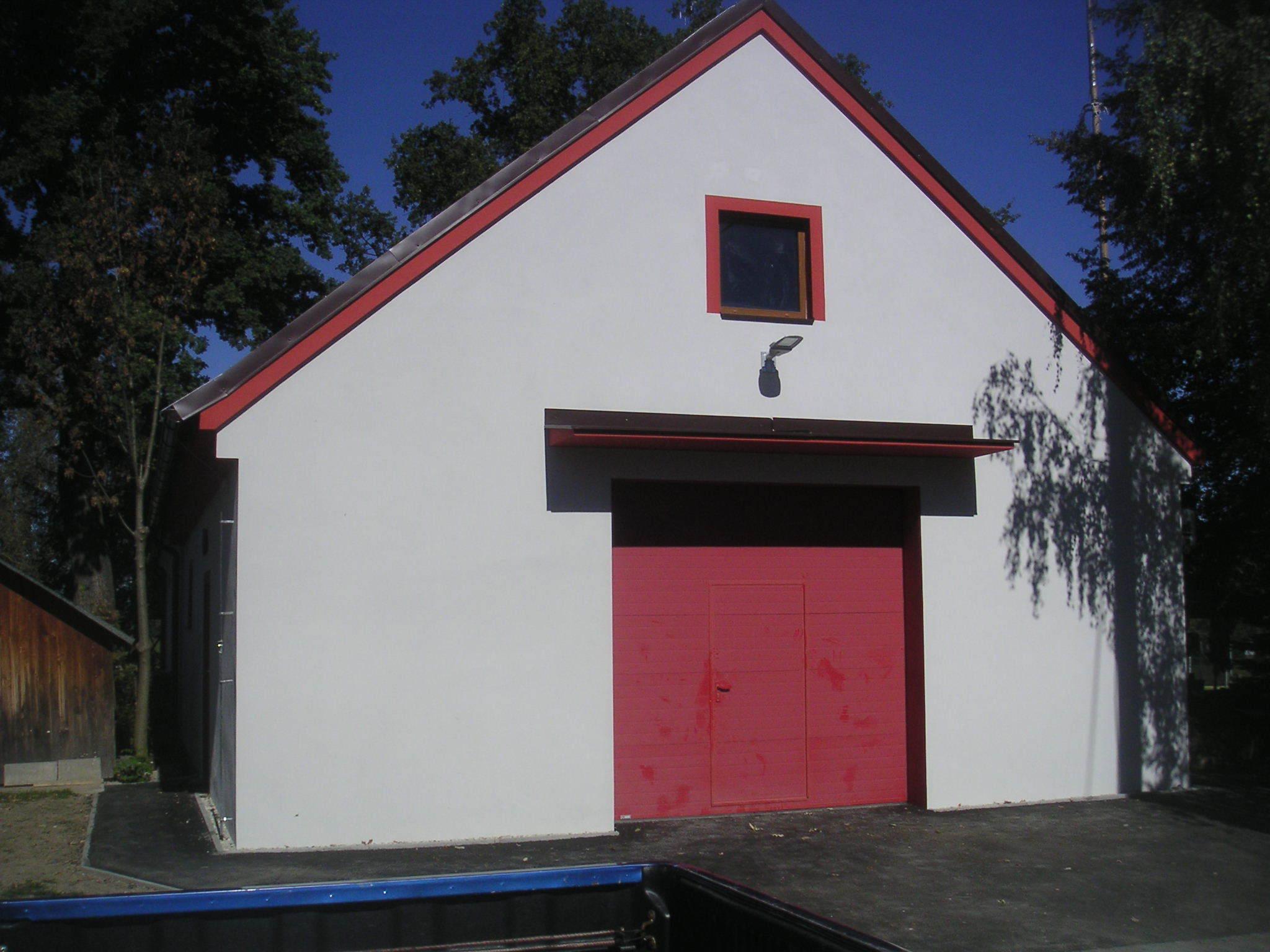 Budova hasičské zbrojnice v Křenovicích čp. 15
