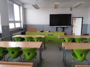 Vybavení přírodovědné učebny ZŠ Dubné